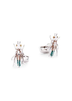 Tateossian Crystal Grasshopper Cufflinks