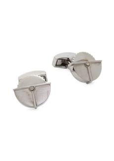 Tateossian Gunmetal Buzzsaw Cufflinks