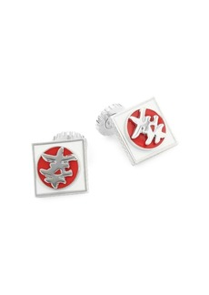 Tateossian Japanese Happiness Symbol Cuff Links