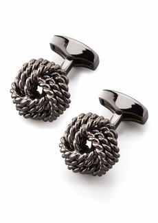 Knot Round Cuff Links