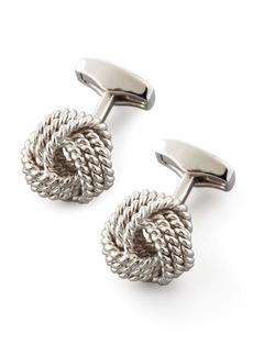 Knot Round Cuff Links