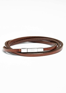 Tateossian Leather Wrap Bracelet