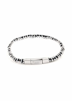 Tateossian Men's Click-Clasp Beaded Bracelet