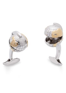 Tateossian Oceanic Globe Cuff Links