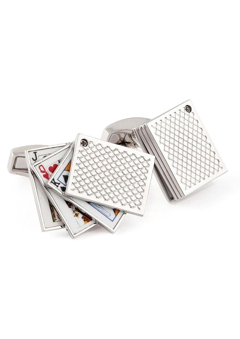 Tateossian Playing Cards Cuff Links