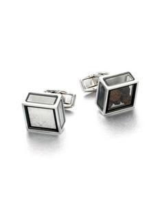 Tateossian Salt and Pepper Pandora Cufflinks