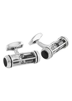 Tateossian Sand Timer Cuff Links