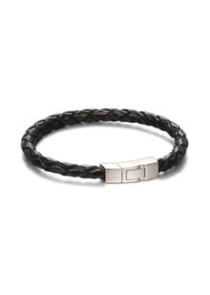 Tateossian Scoubidou Braided Leather Bracelet
