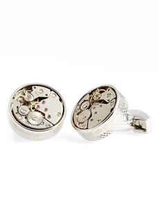 Tateossian 'Skeleton' Cuff Links