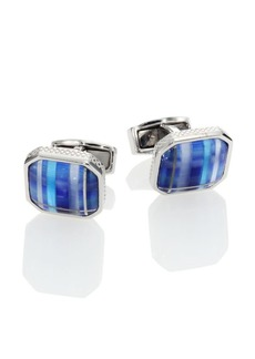Tateossian Tartan Square Cuff Links