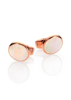 Tateossian White Rotondo Guill Cuff Links