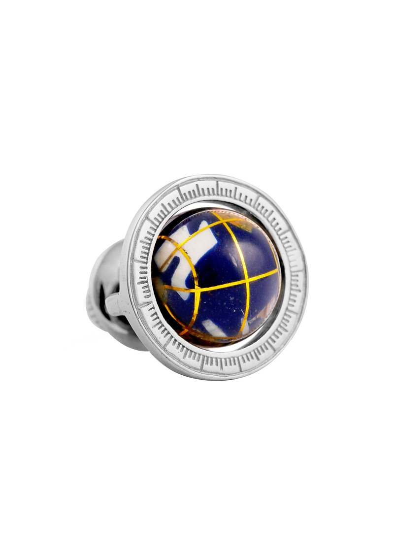 Tateossian Tateosssian Globe Pin