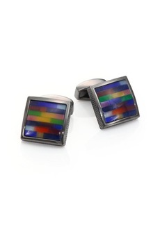 Tateossian Tetris Multi-Color Cuff Links