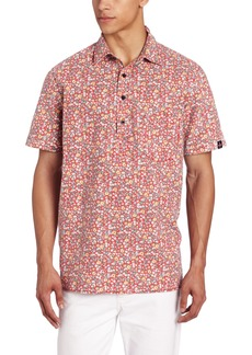 Tavik Men's Guava Short Sleeve Woven Shirt