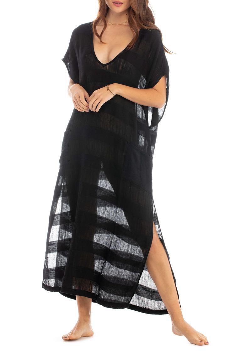 Tavik Stripe Cover-Up Maxi Dress