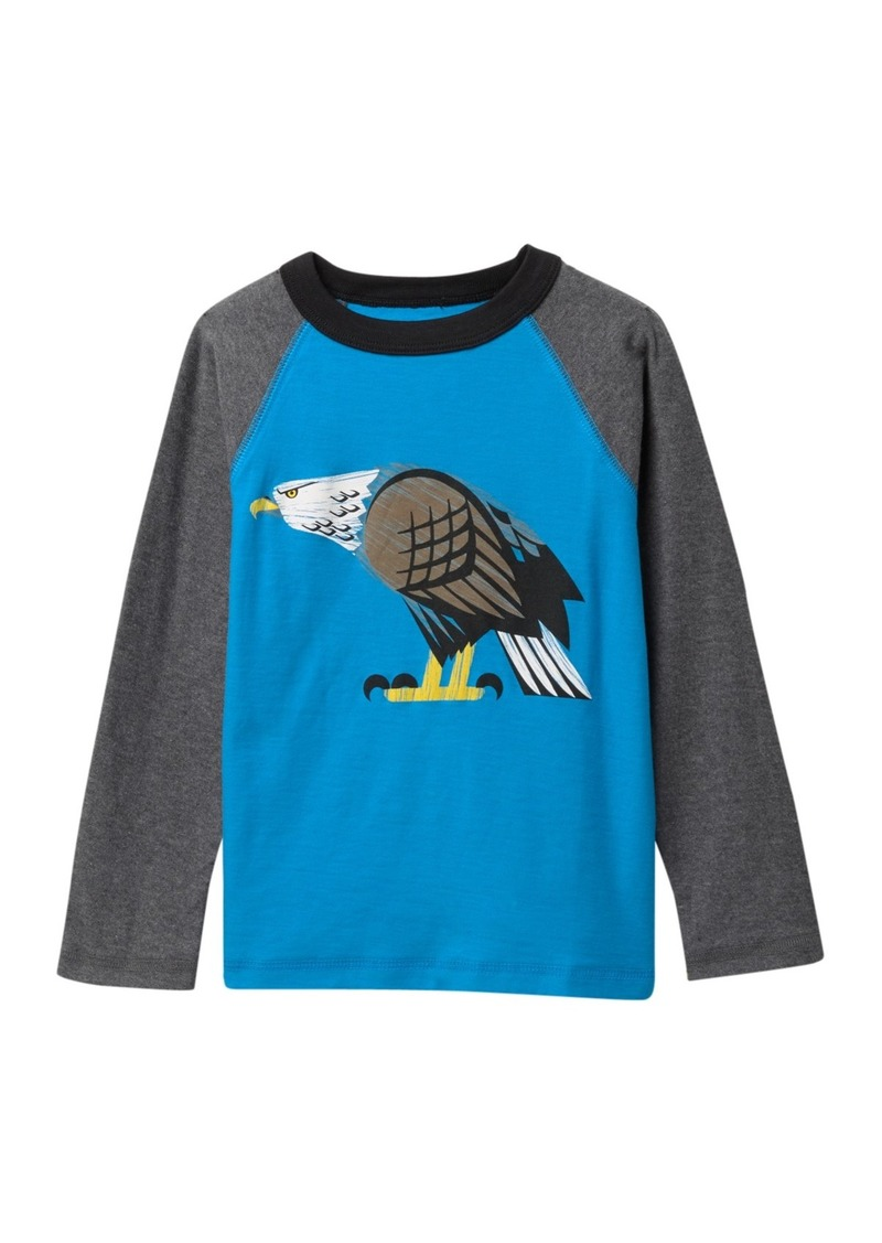 Tea Collection Eagle Eyed Raglan Tee (Toddler & Little Boys)