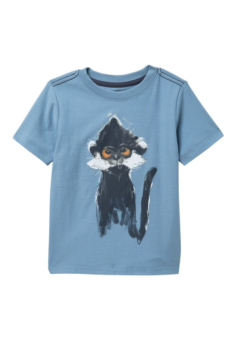 Tea Collection Langur Graphic T-Shirt (Toddler & Little Boys)