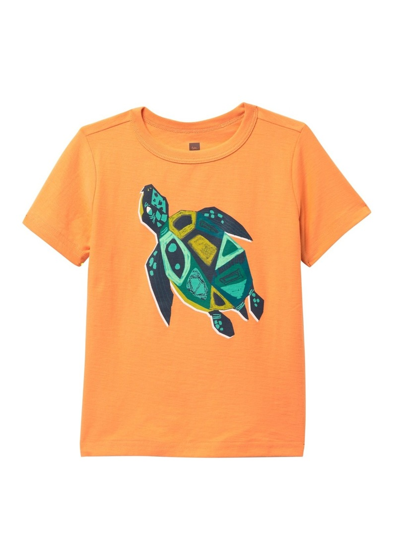 Tea Collection Sacred Turtle Graphic T-Shirt (Baby & Toddler Boys)