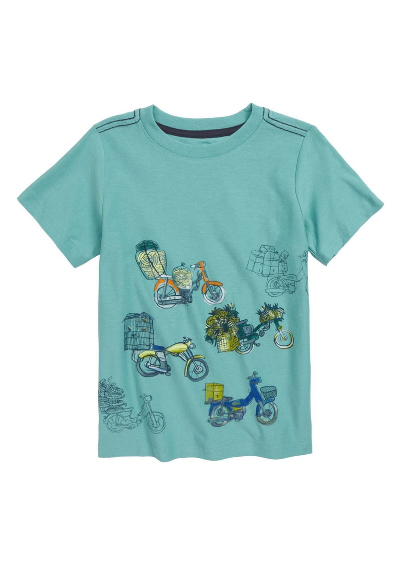 Tea Collection Scooter Traffic Graphic T-Shirt (Toddler Boys & Little Boys)