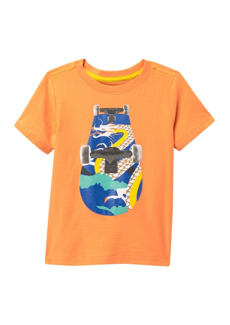 Tea Collection Skate Deck Graphic T-Shirt (Toddler & Little Boys)