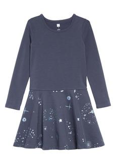 Tea Collection Starry Skies Dress (Toddler, Little Girls & Big Girls)