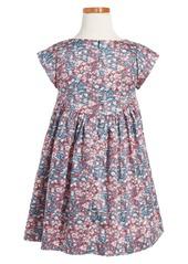 Tea Collection Azuma Sateen Dress (Toddler Girls, Little Girls & Big Girls)