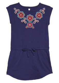 Tea Collection Berry Embroidered Dress (Toddler Girls, Little Girls & Big Girls)