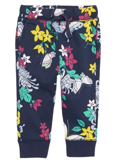 Tea Collection Blooms Jogger Pants (Baby Girls)