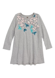 Tea Collection Blossoms T-Shirt Dress (Baby Girls)