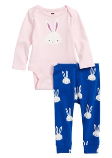 Tea Collection Bodysuit & Legging Set (Baby Girls)