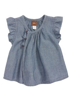 Tea Collection Chambray Tunic (Baby Girls)