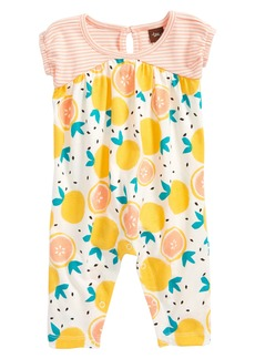Tea Collection Citrus Romper (Baby Girls)