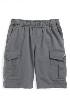 Tea Collection Cotton Cargo Shorts (Toddler Boys & Little Boys)