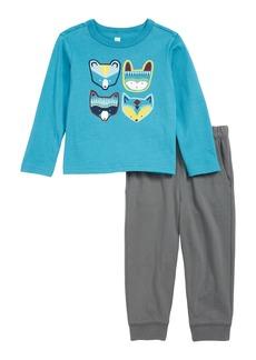 Tea Collection Critters T-Shirt & Sweatpants Set (Baby)