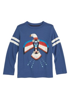 Tea Collection Dakota Bird Graphic T-Shirt (Toddler Boys & Little Boys)