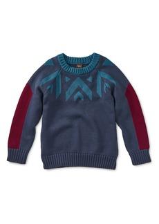 Tea Collection Denali Crewneck Sweater (Toddler Boys, Little Boys & Big Boys)