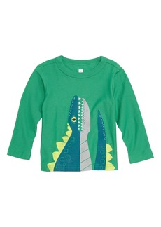 Tea Collection Dino T-Shirt (Baby Boys)