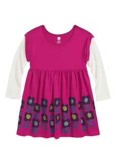 Tea Collection Double Decker Dress (Baby Girls)