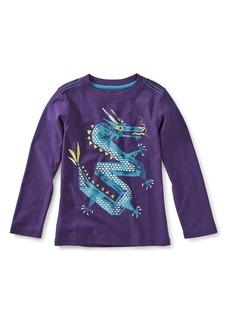 Tea Collection Dragon Graphic T-Shirt (Toddler Boys & Little Boys)