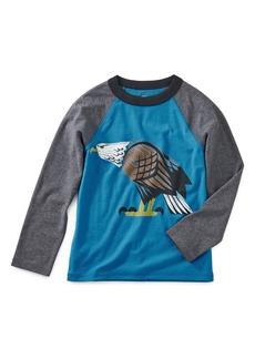Tea Collection Eagle Eye Raglan T-Shirt (Toddler Boys & Little Boys)