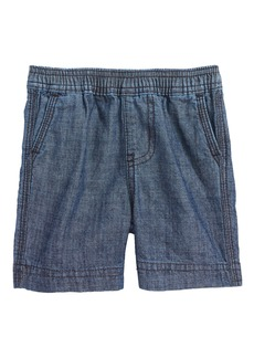 Tea Collection Easy Does It Chambray Shorts (Baby Boys)