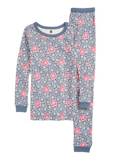 Tea Collection Fitted Two-Piece Pajamas (Toddler Girls, Little Girls & Big Girls)