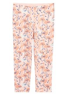 Tea Collection Flamingo Capri Leggings (Toddler Girls, Little Girls & Big Girls)