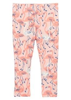 Tea Collection Flamingo Leggings (Baby Girls)