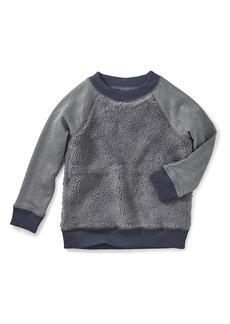 Tea Collection Fleece Sweatshirt (Toddler Boys & Little Boys)