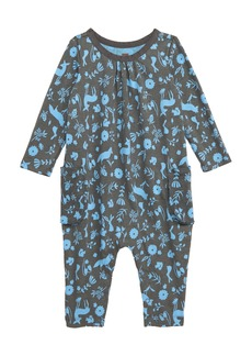 Tea Collection Flora & Fauna Romper (Baby)