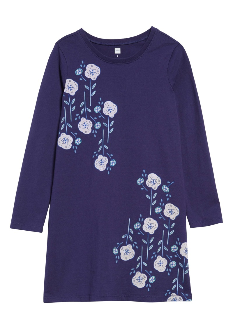Tea Collection Floral Poppy Dress (Toddler Girls, Little Girls & Big Girls)