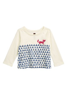 Tea Collection Fox Trot Graphic T-Shirt (Baby)