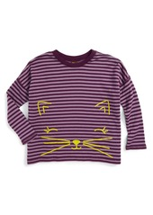 Tea Collection Fuwafuwa Double Knit Top (Toddler Girls, Little Girls & Big Girls)