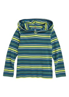 Tea Collection Happy Stripe Hoodie (Toddler Boys & Little Boys)